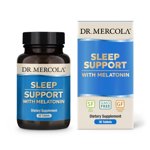 Dr.Mercola  Sleep Support with Melatonin  , 30 Tablets