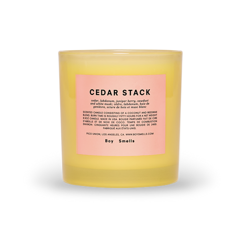 Boy Smells Pride Cedar Stack
