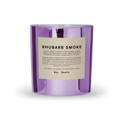 Boy Smells Candle RHUBARB SMOKE