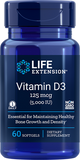 LIFE Extension Vitamin D3 5,000 IU , 60 softgels