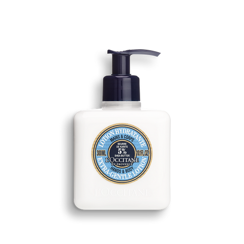 L'Occitane  Shea Butter Hands & Body Extra-Gentle Lotion , 10.1 fl.oz.