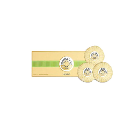 Roger & Gallet Cedrat (Citron) Soap Pack of 3