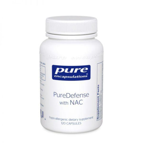 Pure Encapsulations PureDefense w/NAC 120's