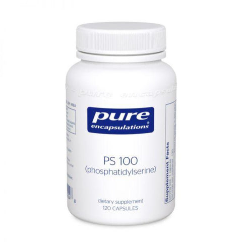 Pure Encapsulations PS 100 (phosphatidylserine) 60's