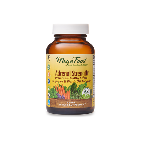 MegaFood  Adrenal Strength®  60 Tablets