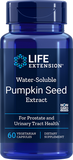 LIFE Extension Water-Soluble Pumpkin Seed Extract 60 vegetarian capsules