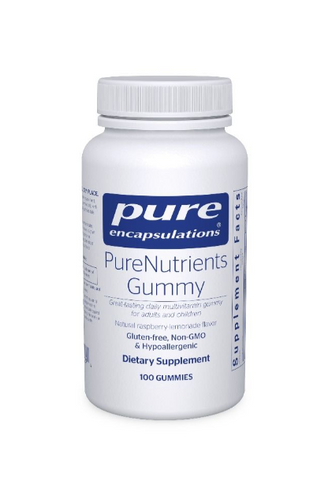 Pure Encapsulation  PureNutrients Gummy , 100 gummies