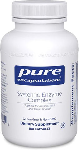 Pure Encapsulations Systemic Enzyme Complex 180 Capsules