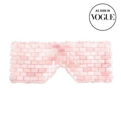 ANGELA  CAGLIA  ROSE QUARTZ EYE MASK