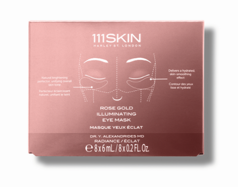 111SKIN  ROSE GOLD ILLUMINATING EYE MASK - BOX