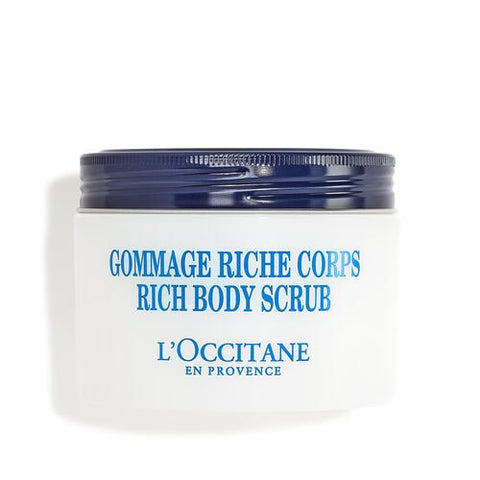 L'Occitane  Shea Butter  Rich Body Scrub , 6.9 oz.