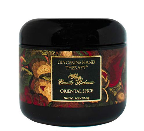 Camille Beckman Glycerine Hand Therapy Cream, Oriental Spice, 4 Ounce