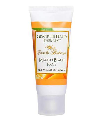 Camille Beckman Glycerine Hand Therapy, Mango Beach No. 2, 1.35 Ounce