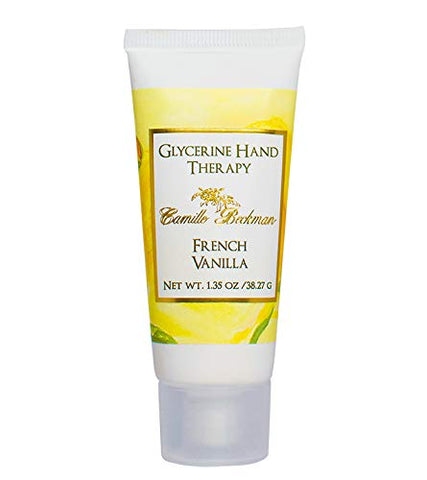 Camille Beckman Glycerine Hand Therapy, French Vanilla, 1.35 Ounce