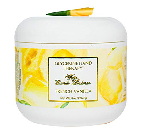 Camille Beckman Glycerine Hand Therapy, French Vanilla, 8 Ounce