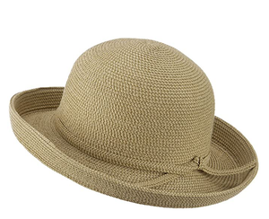 Kettle Brim UPF 50+ Cotton Paper Braid Crushable Hat