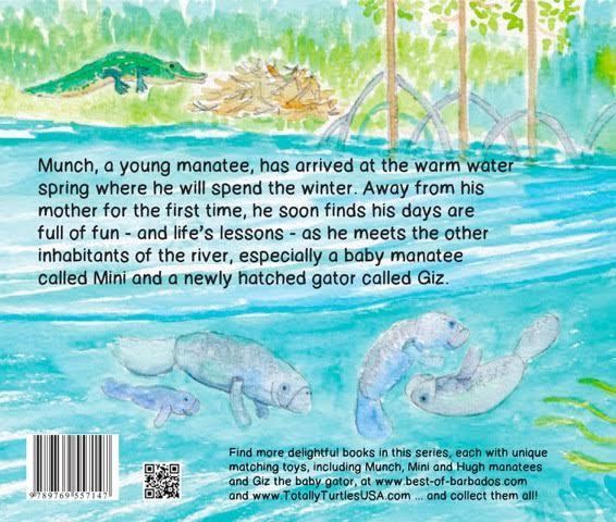 Manatee Magic Book