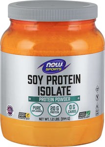 Soy  Isolate, Non-GMO, Pure, Unflavoured 544g