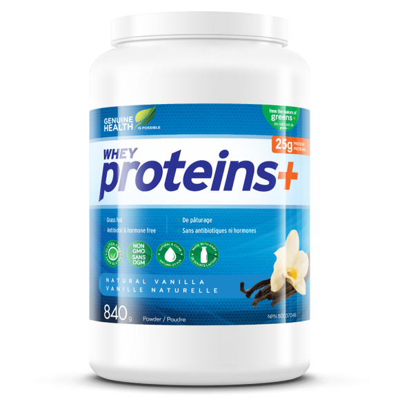 Genuine Health Whey proteins+  840g