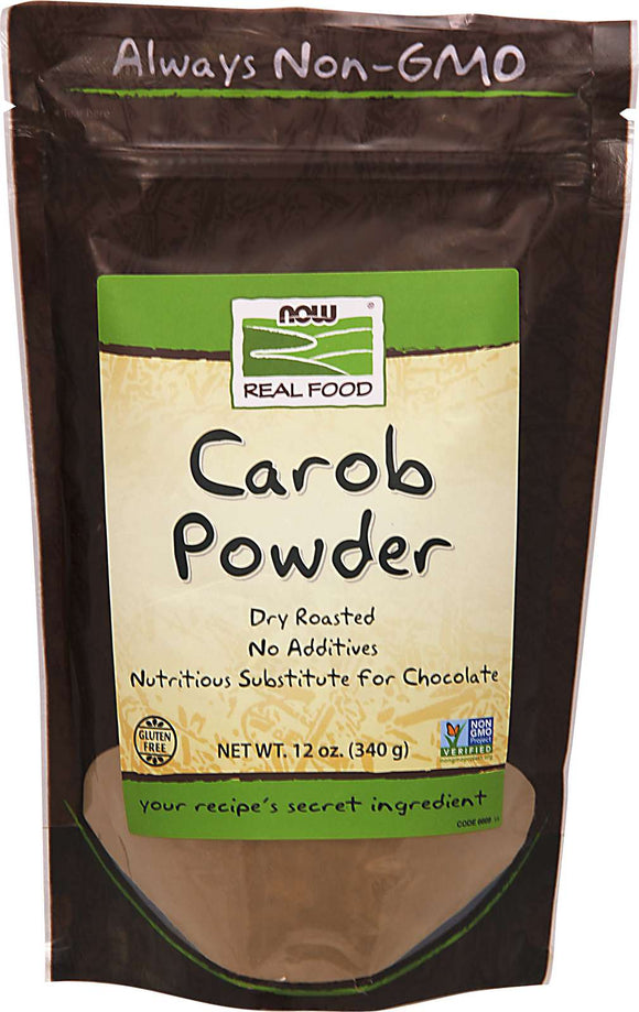 Carob Powder, Roasted, Pure 340g