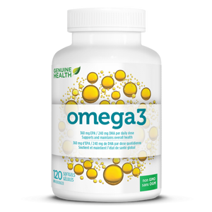 Genuine Health omega 3 Fish Oil