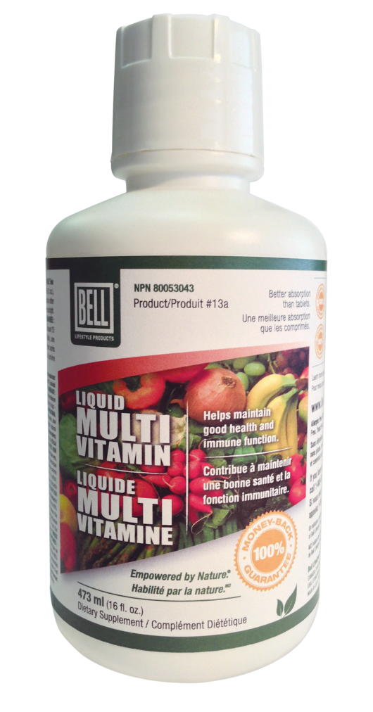 Bell Liquid Multi-Vitamin #13a