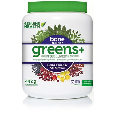 greens+ bone builder blackberry 491g