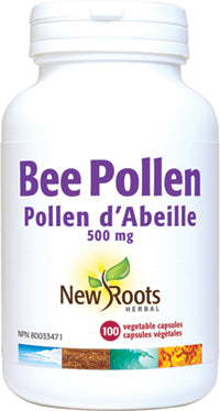 New Roots Bee Pollen 500mg 90's