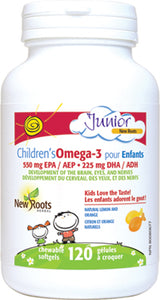 New Roots Children's Omega 3 Fish Oil 120's