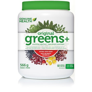 greens+ mixed berry 566g