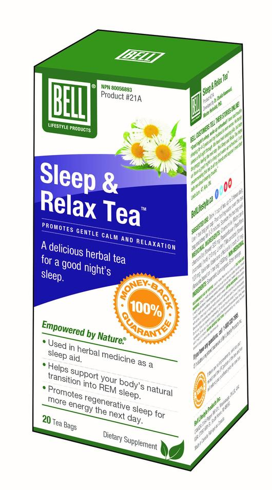 Bell Sleep & Relax Tea 20 tea bags