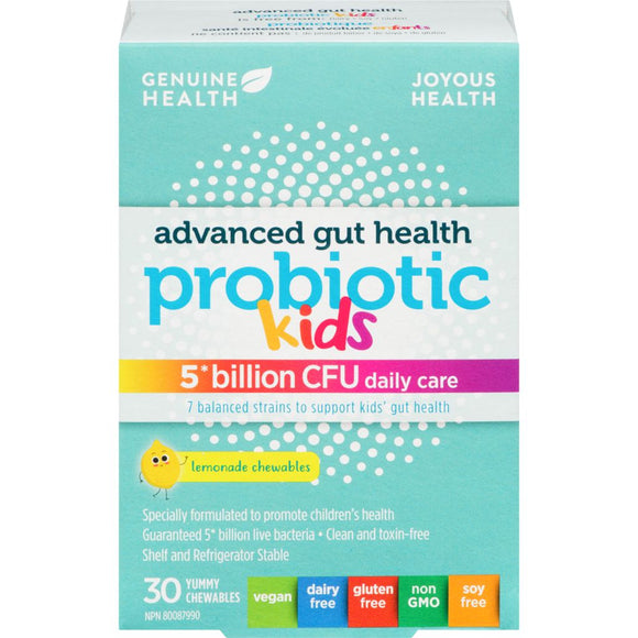 Genuine Health Advanced Gut Health Probiotic for Kids