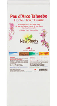 New Roots Pau d'arco Bulk 454g Tea