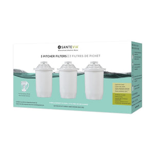 Santevia Classic Pitcher 3 Filter replacement pack
