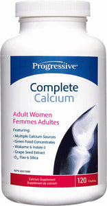 Progressive Complete Calcium Adult Women 120's