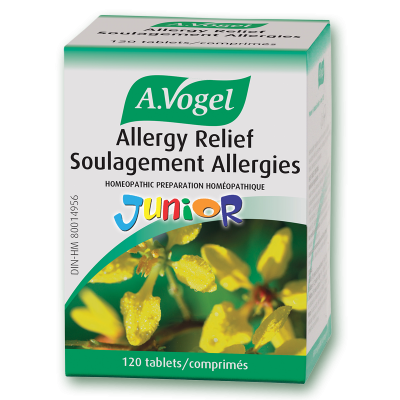 A.Vogel Allergy Relief Junior 120's