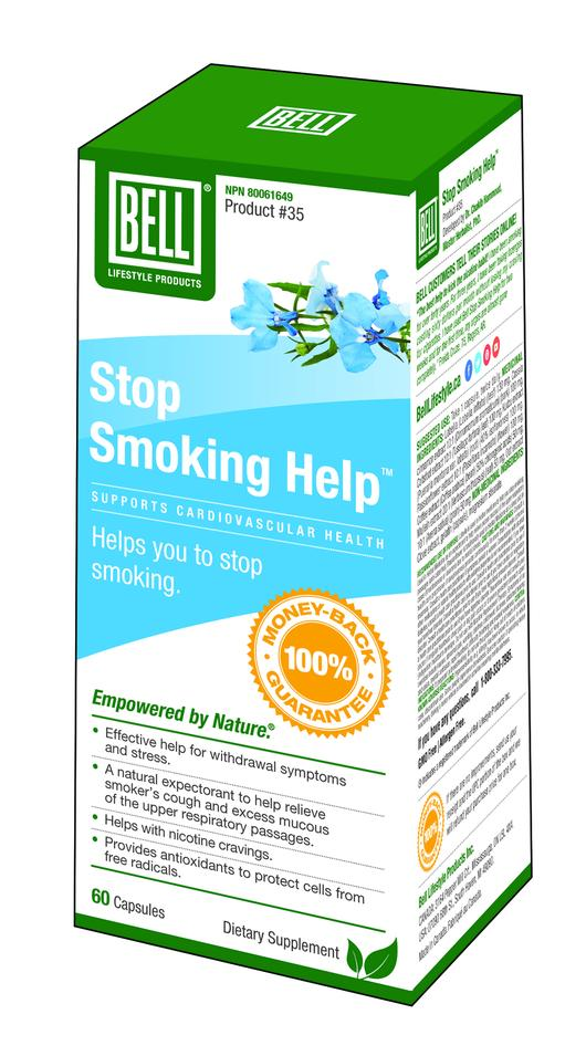 Bell Stop Smoking Help   60 caps  #35