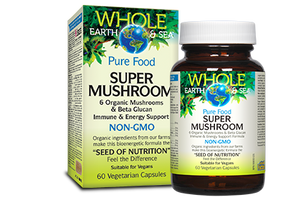Super Mushroom, Whole Earth & Sea®