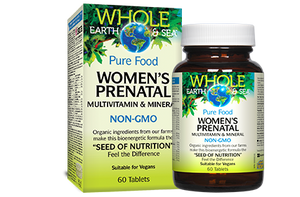 Women's Prenatal Multivitamin & Mineral, Whole Earth & Sea®