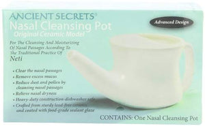 Ancient Secrets Neti Pot Nasal Cleansing