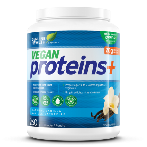 Genuine Health Vegan proteins+  780g