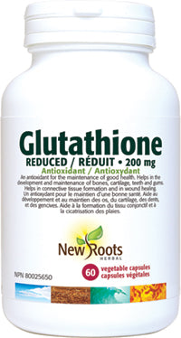 New roots Glutathione Reduced 30's