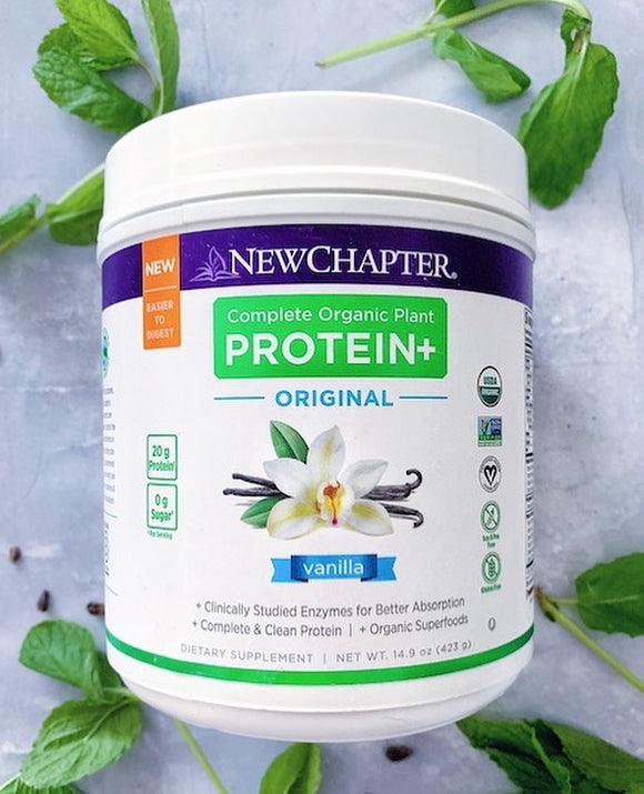 New Chapter Complete Organic Plant Protein