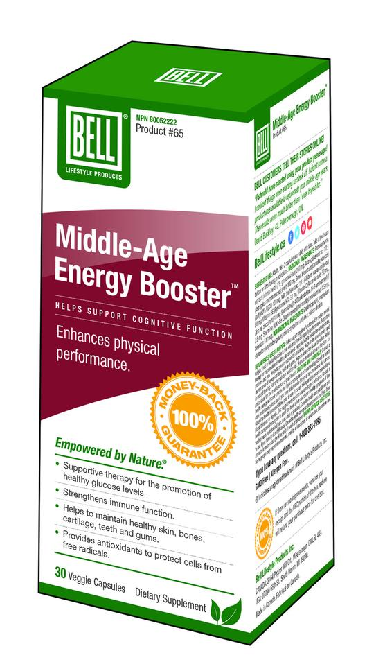 Bell Middle Age Energy Booster #65