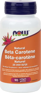 Beta Carotene 25,000 IU Natural D.Salina 90gel