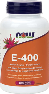 SUN E-400 IU (Non-GMO Sunflower) 60gel