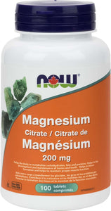 Magnesium Citrate 200mg 100tab