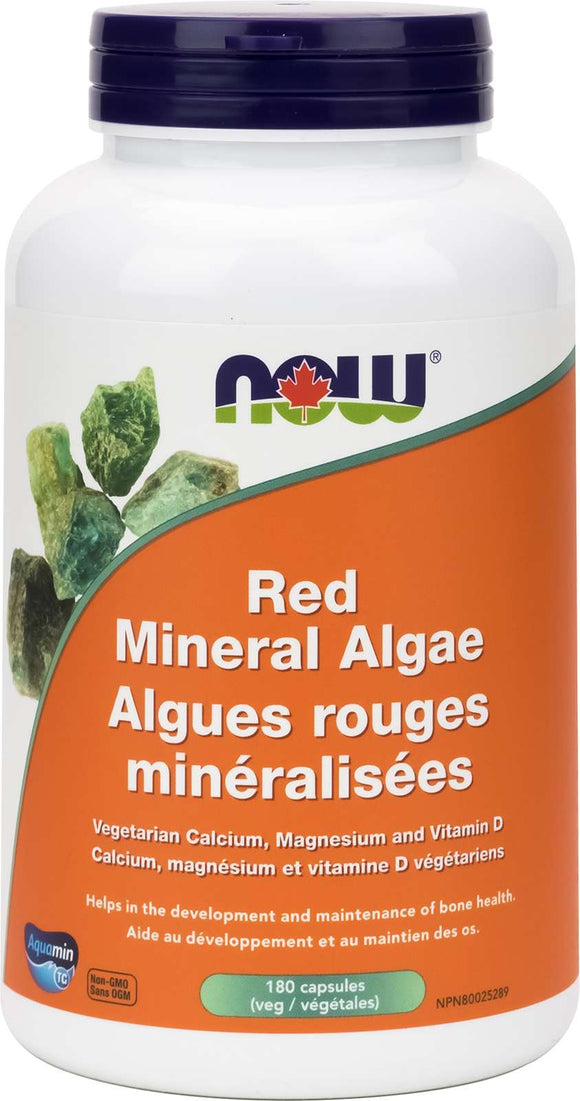 Red Mineral Algae (Vegetarian/Vegan) 180vcap