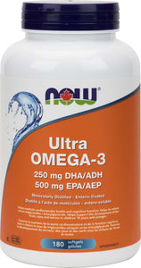 Ultra Omega-3 1000mg (500EPA / 250DHA)  180gel