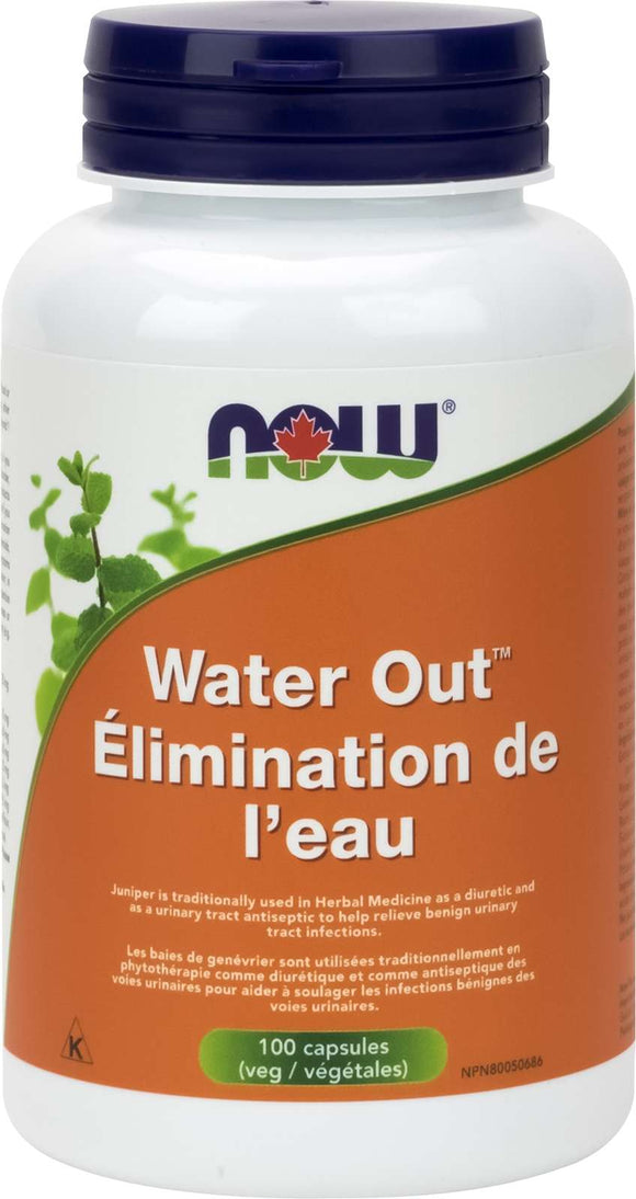 Water Out Herbal Diuretic 100vcap